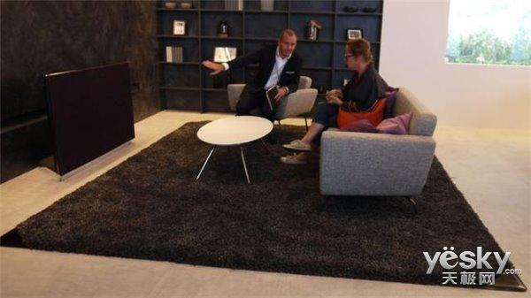 IFA2015松下推新型地毯 内置6.1声道音响