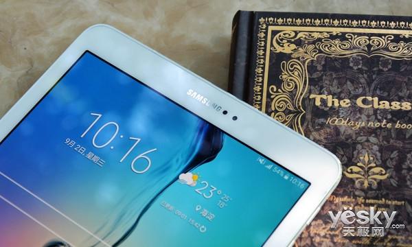 轻薄有型绚丽靓屏 三星Galaxy Tab S2评测