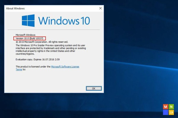 从Windows 10 Build 10537截图看界面变化_天极yesky软件频道
