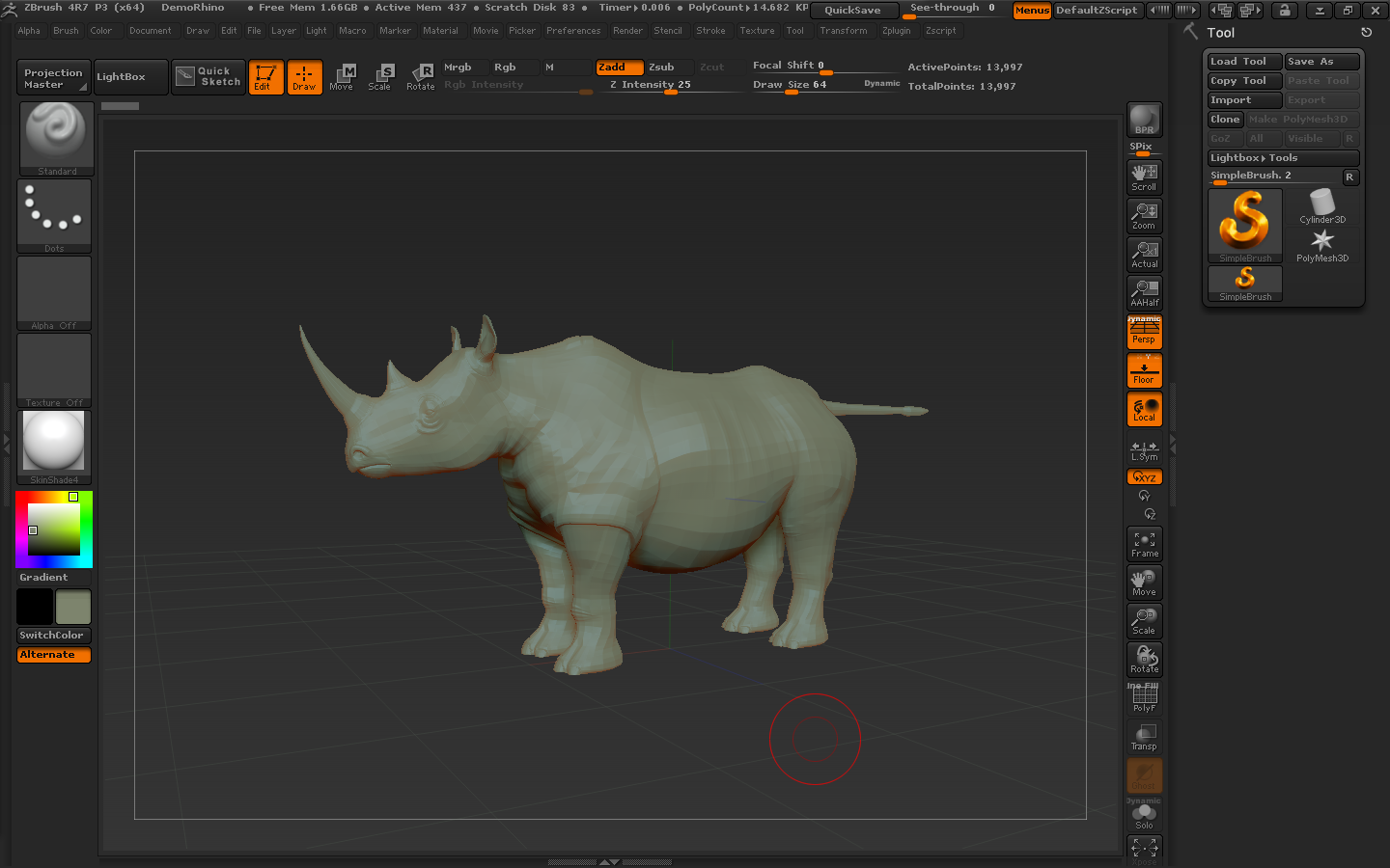 ZBrush 4R7 for mac截图2