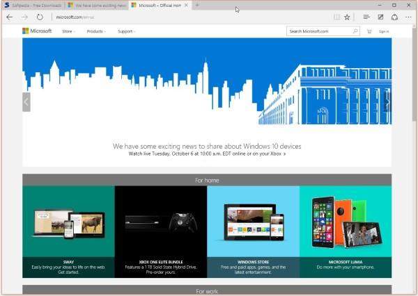 Edge浏览器将登陆Xbox One 扩展是首要任务