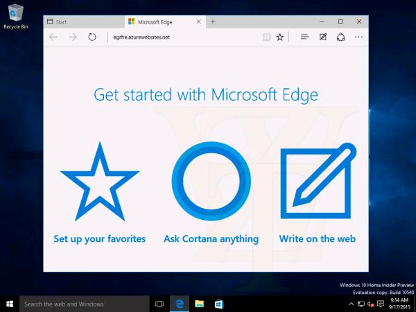 Windows 10 Build 10540大量截图曝光