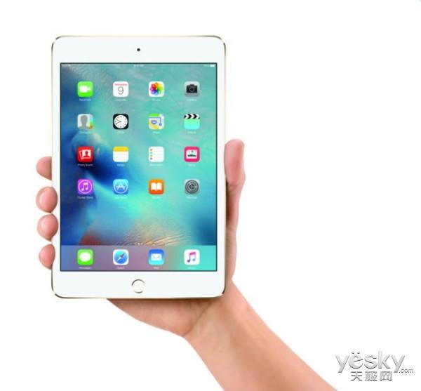 iPad mini 4显示升级 效果直逼 iPad air 2