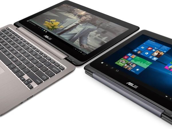 华硕9月底将发布两款Windows 10变形本