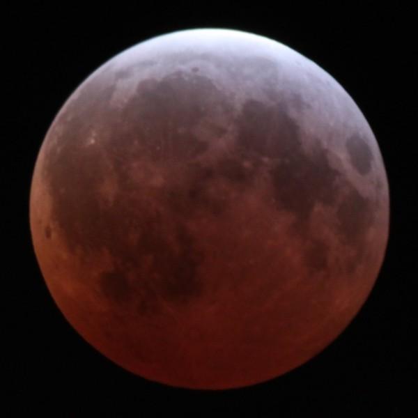 月全食,红月亮来袭