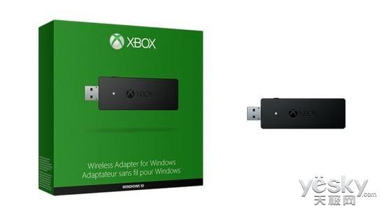 Win10版Xbox无线适配器20日发售 24.99美元