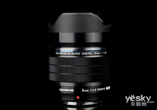 鱼眼大光圈 奥林巴斯8mm无反镜头外观评测