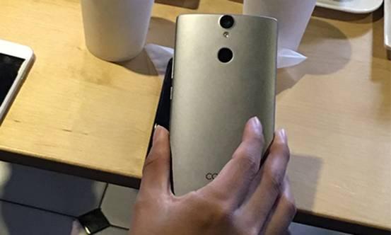 图3:青葱手机背部