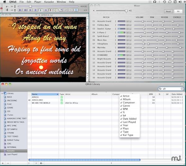QMidi pro for mac截图1
