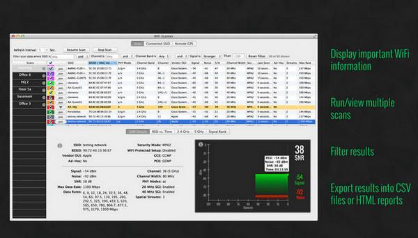 Wifi Scanner for Mac截图3