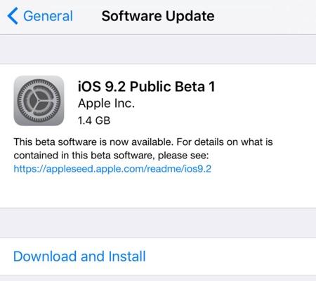iOS 9.2公测版