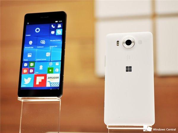 微软英国 意大利开启Lumia950/XL预订