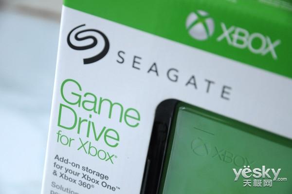 游戏玩不停 希捷XBOX专用2TB移动硬盘评测