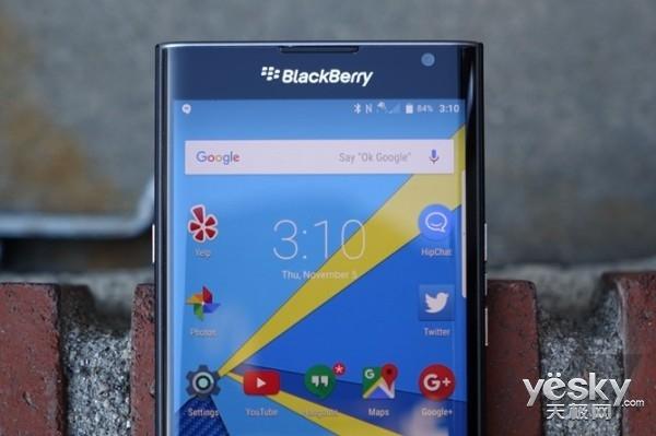 黑莓Priv手机于2016年正式升级至Android6.0