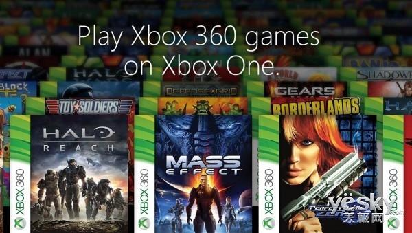 微软公布首批Xbox One兼容Xbox 360游戏名单
