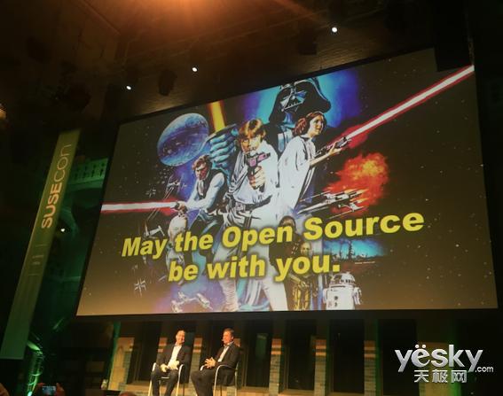 愿开源与你同在 记别具一格的SUSECon 2015