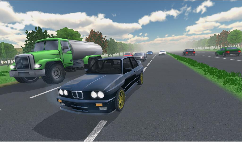 高速公路赛车手截图2