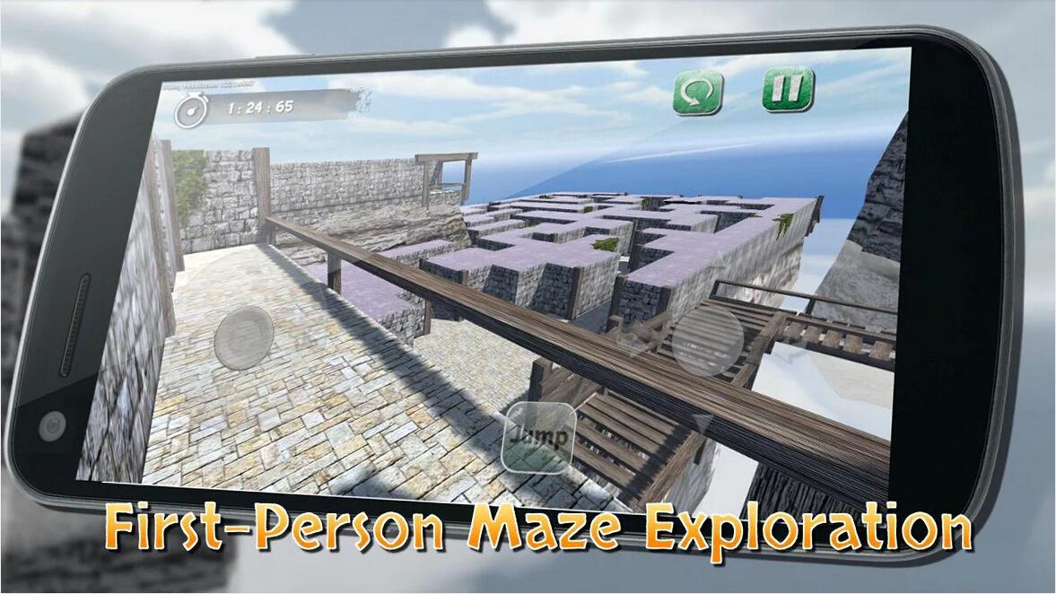疯狂3D迷宫截图3