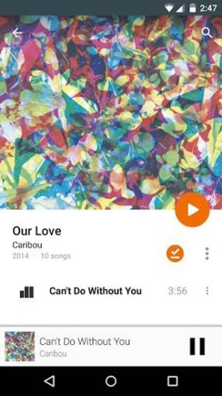 谷歌音乐播放器(Google Play Music)截图3