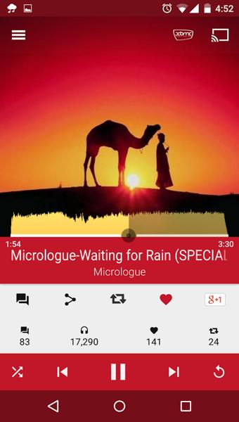 SoundCloud云播放器截图4