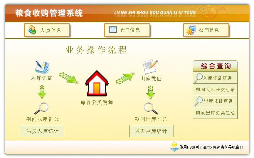粮食收购管理软件截图1