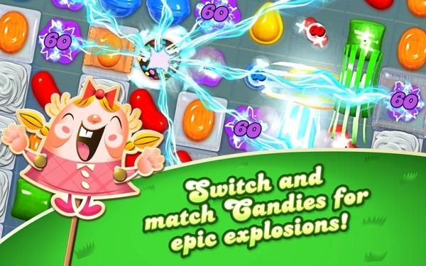 Candy Crush Saga截图3