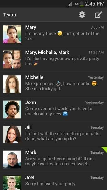 Textra SMS截图2