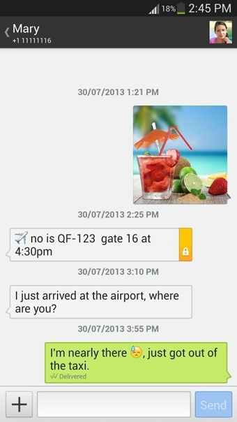 Textra SMS截图1