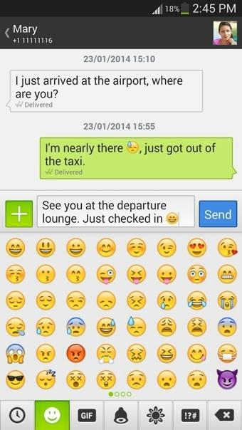 Textra SMS截图3