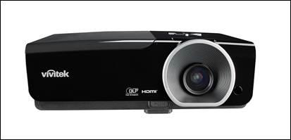 图三:Vivitek(丽讯)D966HD商务投影机可轻松投射300寸大画面