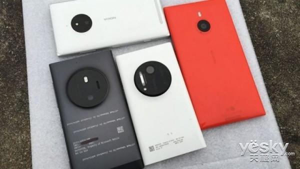 微软高端手机Lumia McLaren真机图再次曝光