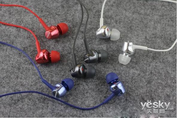 索尼入耳式通话耳机EX250AP图赏 四种配色