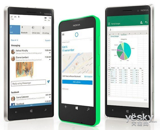 沃达丰在WP8.1手机上测试Win10 Mobile系统