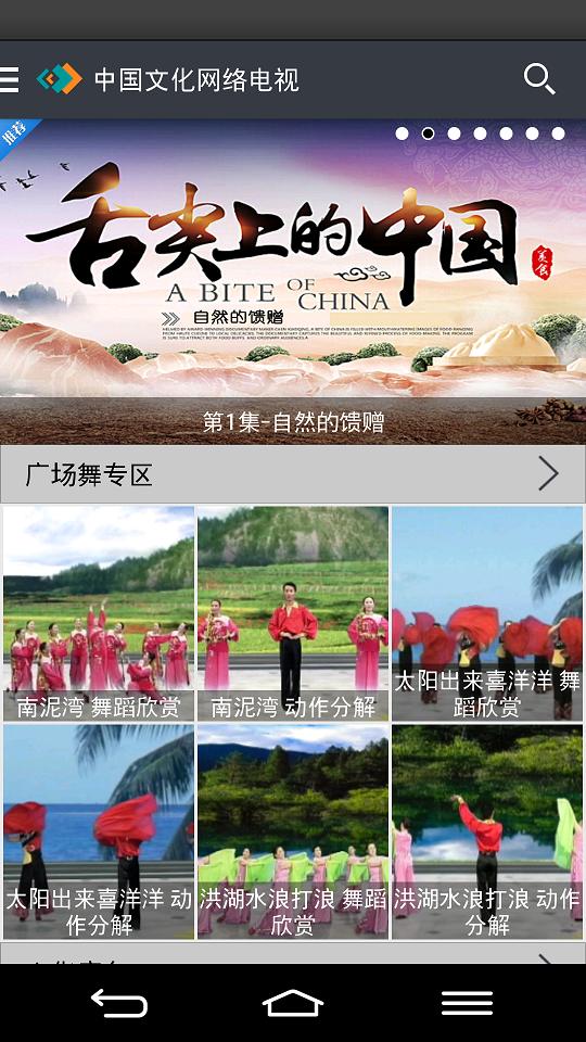 中国文化网络电视截图4