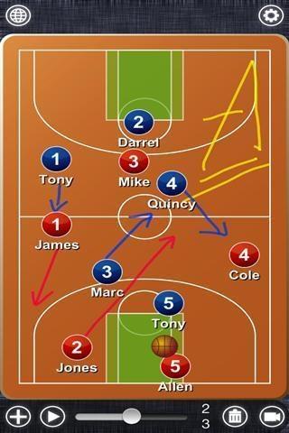 篮球战术板截图1