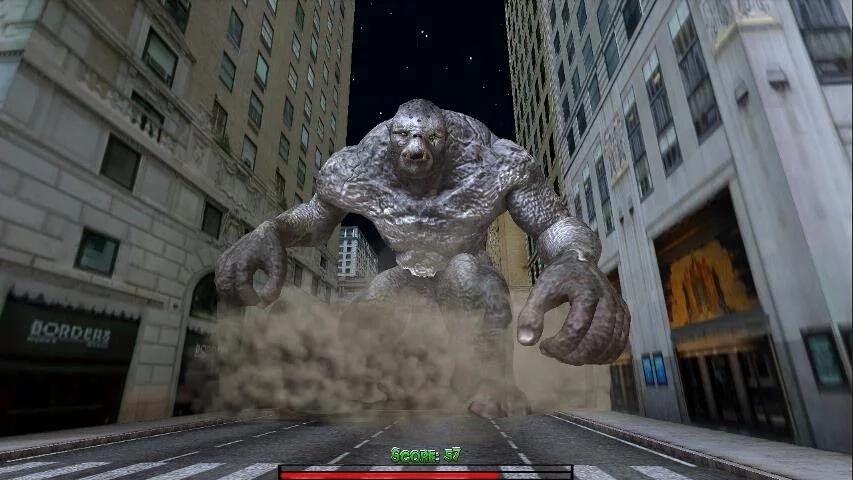 怪兽袭城截图1