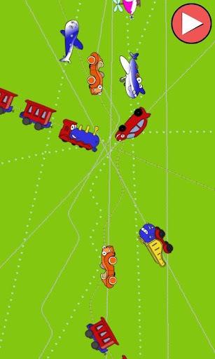 火车汽车和飞机的孩子截图1