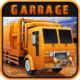 城市垃圾清理卡车标题图