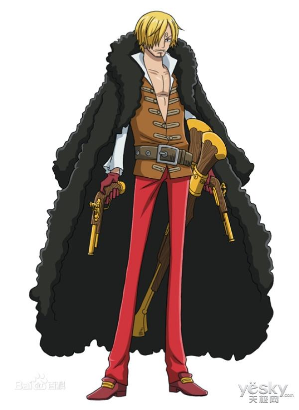 尾田荣一郎将揭开《海贼王》山治身世之谜