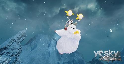 骑着雪人追麋鹿 《天谕》精彩圣诞活动前瞻