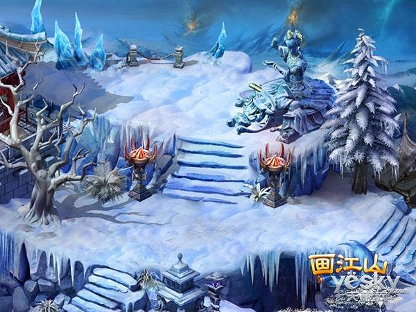 冬日旅行好去处 画江山雪域绝美风光