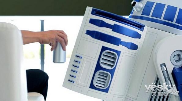 R2-D2机器人移动冰箱将登陆2016 CES展