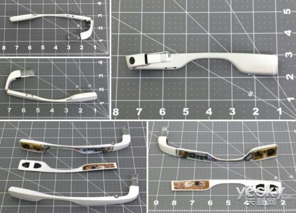 企业版谷歌Glass设计图现身FCC 可折叠设计