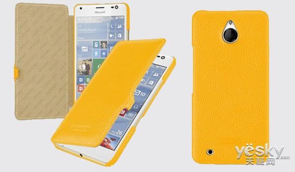微软Lumia850白色版渲染图再曝光 金属边框