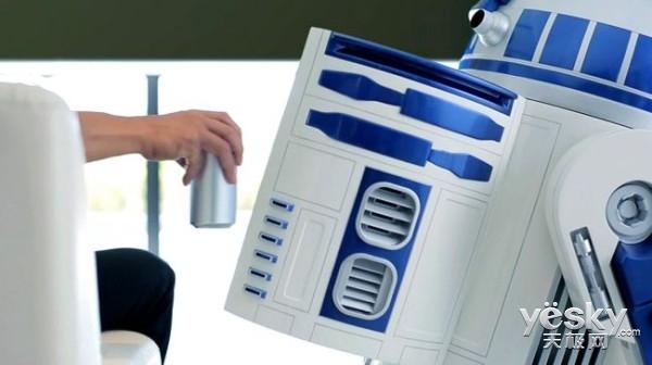 星战机器人来袭CES了 R2-D2冰箱确定参展