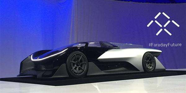 每日IT极热 乐视超级概念车亮相CES2016