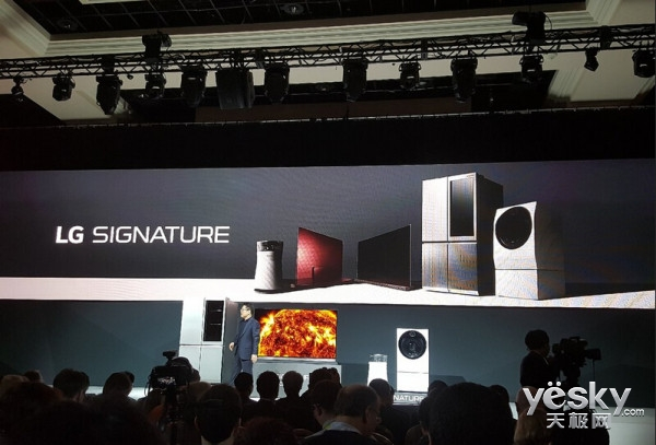 CES2016:LG发布高端Signature系列电器