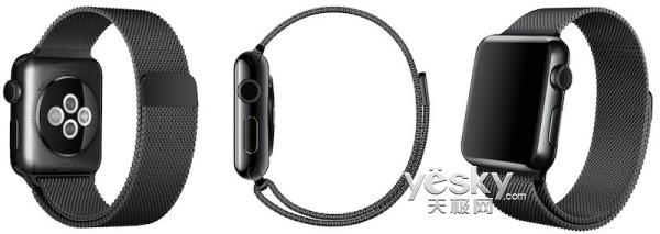 捷克官网惊现AppleWatch深空黑米兰尼斯表带