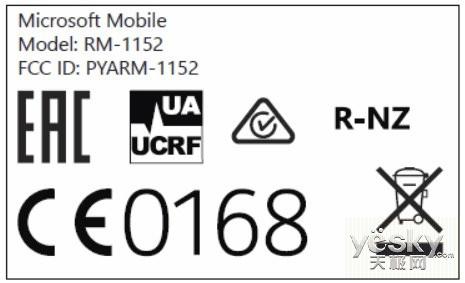 Win10手机Lumia650获得美国FCC认证 支持NFC