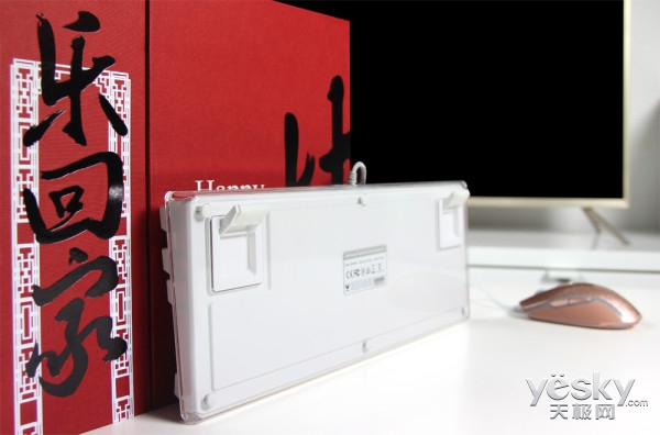 全新RGB背光系统 雷柏V500RGB+V210键鼠鉴赏